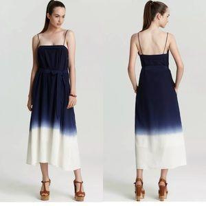 MBMJ Marc Jacobs Aurora Ombre Indigo Midi Dress